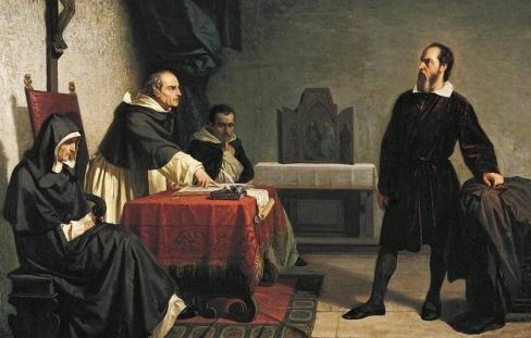 """Baznīcas """"tumsonība"""" un Galileja lieta"""