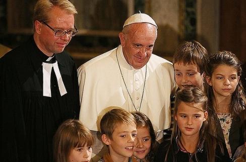 Negaidīts pāvesta solis attiecībās ar luterāņiem